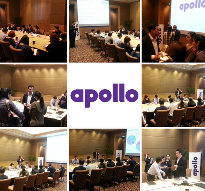 Brand Now organized a media roundtable for leading India tyre manufacturer, Apollo Tyres Ltd, where the executives discussed, among several things, the company's growth oriented business model and provided insight on marketing plans to enhance Apollo's market share in the ASEAN region, especially in Thailand.