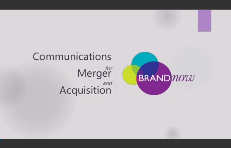 Communications for Merger and Acquisition