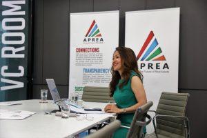 Miss Sigrid Zialcita, APREA's Chief Executive Officer